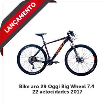 Nova Bicicleta OGGI Big Wheel 7.4! Modelo 2017 que veio ainda mais agressiva