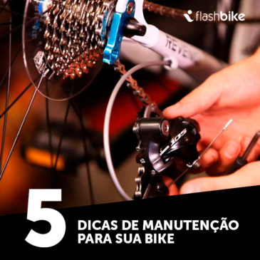 5 dicas de manutenção para sua bike