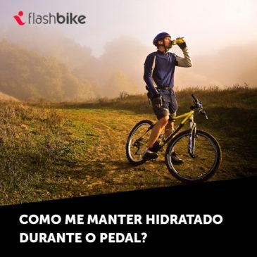 Como me manter hidratado durante o pedal?