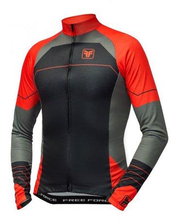 Camisa manga longa para ciclismo
