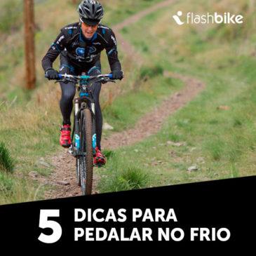 5 dicas para pedalar no frio