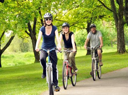 Como atividade física ou transporte, o ciclismo contribui muito para a qualidade de vida